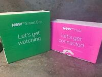 Now Smart Box and Now Hub