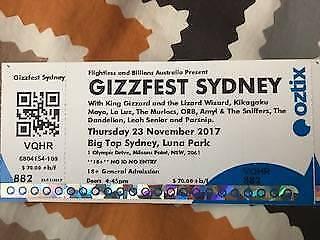 4 x King Gizzard & the Lizard Wizard Tickets $90 off!