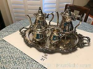 Silver Plated Tea Service A