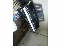 yamaha psr e343 keyboard and stand for sale