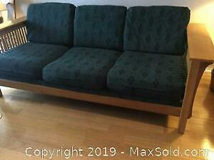 Mission Couch And Chair