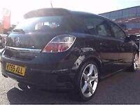Genuine 04-2010 Vauxhall astra mk5 (BLACK) rear tailgate