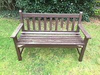Garden Seat (two seater) - Timber