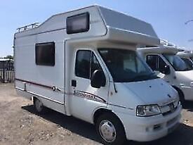 Elddis Autoquest 100 4 berth end kitchen coachbuilt motorhome for sale ref 16053