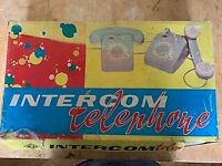 Vintage Toy intercom telephone system