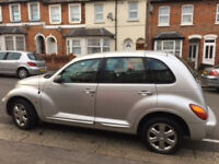 2.2 silver Chrysler PT Cruiser Limited CRD - stylish and reliable