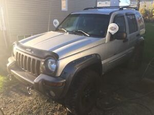 2003 Jeep Liberty SUV, Crossover need gone asap
