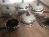 Vintage Asta enamel cookware- rare