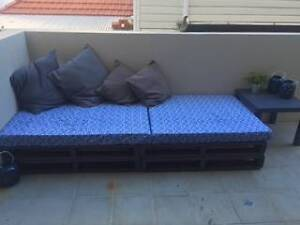 Outdoor Pallet couch West Perth Perth City Area Preview
