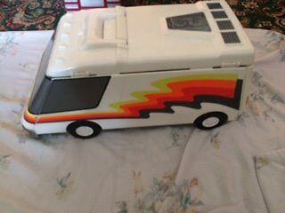Micro Machine Van and 50+ Micro Machines