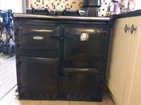 Rayburn 480Ag Gas Cooker and Boiler Heater