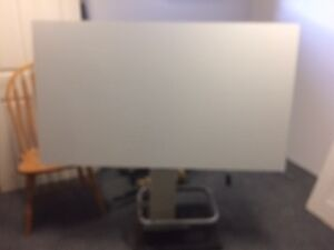 Architect drafting table C/W with Pump Base