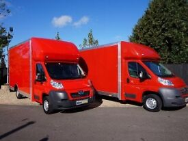 URGENT SHORT NOTICE NATIONWIDE MAN&LUTON VAN HOUSE OFFICE/PIANO MOVERS/BIKE/COURIER/DUMP/RUBBISH