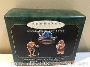 "Hallmark Keepsake Christmas Ornament Star Wars ""Max Rebo Band"""
