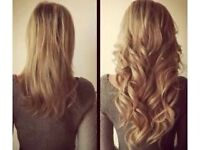 REDUCED PRICES ON AMAZING QUALITY MOBILE HAIR EXTENSIONS. ANY LENGTH, INCLUDING FITTING & HAIR.
