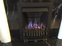 FIREPLACE SURROUNDS AND COAL EFFECT GAS FIRE