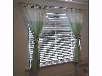 Very pretty Nursery curtains - neutral