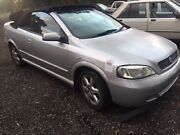 Holden Astra 2002 TS CONVERTIBLE WRECKING ONLY Maddington Gosnells Area Preview