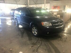 2017 Dodge Grand Caravan CREW STOW N GO CUIR NAV TV/DVD