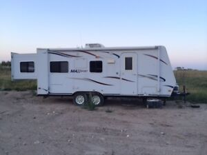 Travel Trailer Rental, Take it to the lake or the mountains.