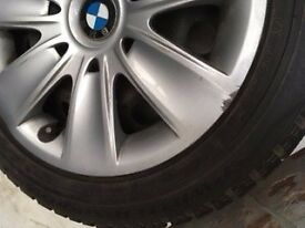 BMW winter wheels. Full set, size 205/55/R16.