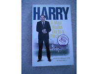 Harry Redknapp – A Man Walks On To A Pitch, Hard Back Book.