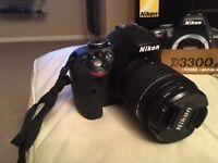 Nikon D3300 AF-P DX 18-55 VR Kit Black