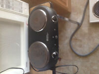 Electric 2 Burner Hot Plate Stove