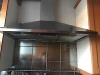 Ikea Whirlpool chrome cooker hood/extractor