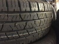 Continental Tyres 255/70R16 x 4 like New £50 each or £180 for all 4