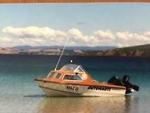 Mustang halfcab 15ft boat Hobart CBD Hobart City Preview