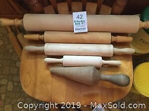 Vintage Rolling Pins A