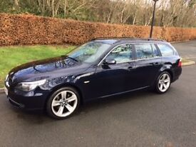 BMW 525D SE Touring Automatic. 79,000 miles. Immaculate condition inside and out. FSH. 12 mths MOT.