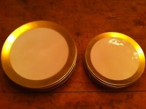 STUNNING ANTIQUE DISHES - with wide gold band North Shore Greater Vancouver Area image 2