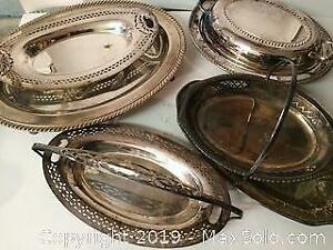 Lot of Silverplate