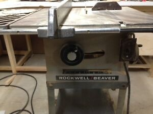 table saw 8 in