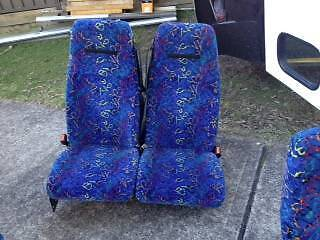 Coach seats seat belted non reclinable Emu Plains Penrith Area Preview