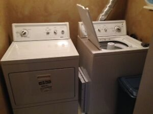 Kenmore Large Capacity Series 80 - Washer/Dryer Set