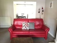 DFS - Red Leather Suite