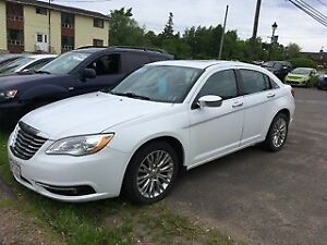 2012 CHRYSLER 200, LEATHER, MOONROOF, 832-9000/639-5000