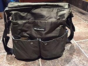 Columbia Dark Grey Diaper Bag