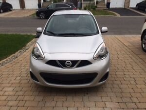 Reprise de bail de location Nissan Micra SV 2015