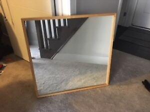 Wooden Frame Mirror