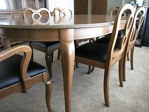 Dining room Set with China Cupboard