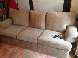 """Large Clean Sofa 93"""" wide x 40"""" deep - Multiyork 7 years old."""