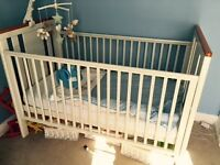 Cot Bed - I love my bear cot bed , with mattress, mobile, bumpers and duvet