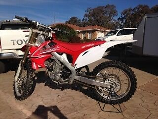 Honda CRF450r Queanbeyan Queanbeyan Area Preview