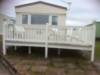 Caravan to let in Trecco Bay, Porthcawl
