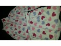 Girls dressing gown 7-8 years