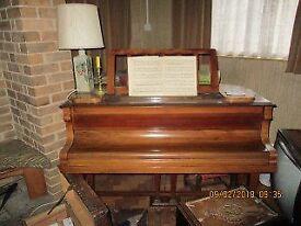 Classic Waldburg Baby Grand Piano